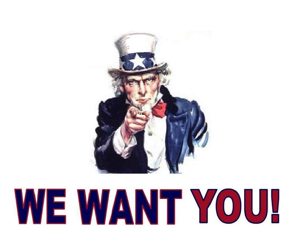 Afbeeldingsresultaat voor we want you uncle sam